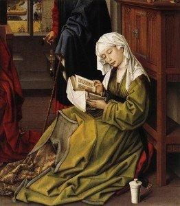 Van der Weyden Marie-Madeleine lisant